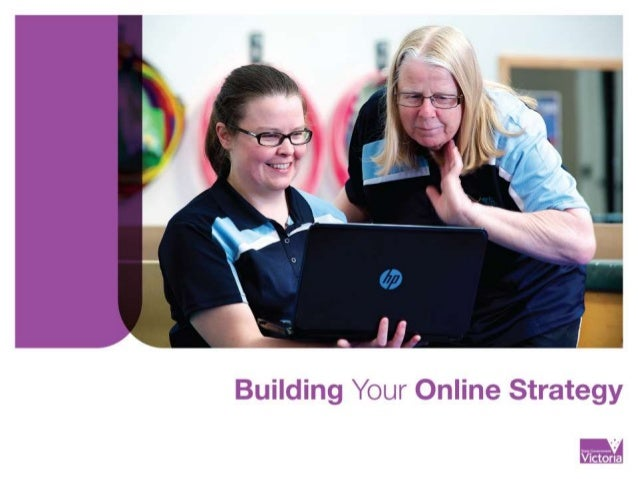 Building your online strategy workshop
