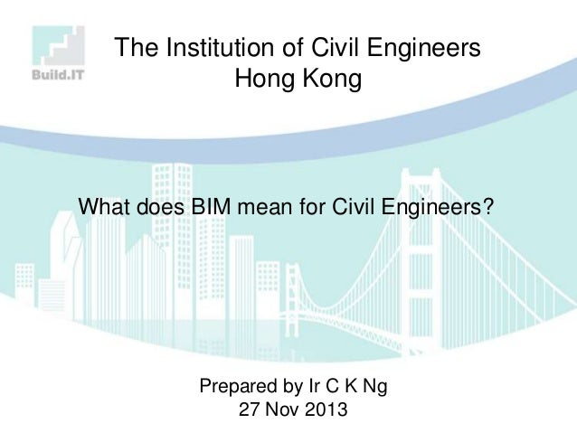 What does BIM mean for Civil Engineers?