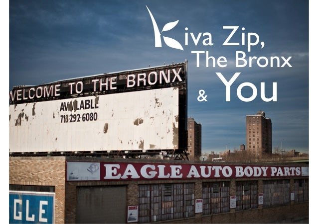 Kiva Zip teenpreneur Challenge to high school students in Bronx NY