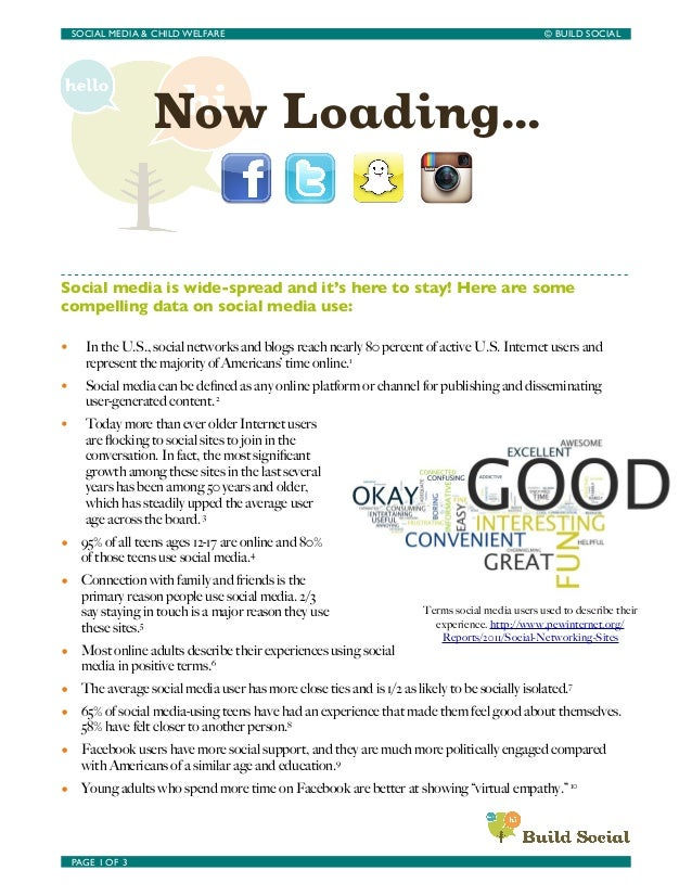 Now Loading... A Child Welfare Social Media Resource Guide