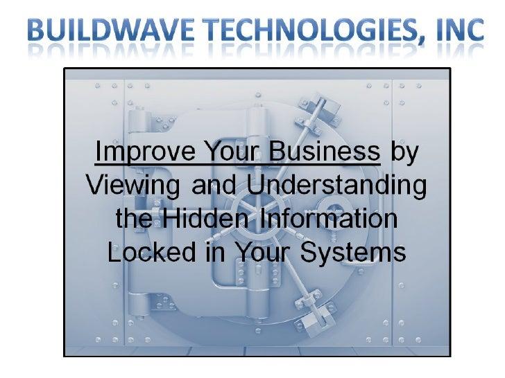 Buildwave BCLM/Violog Overview