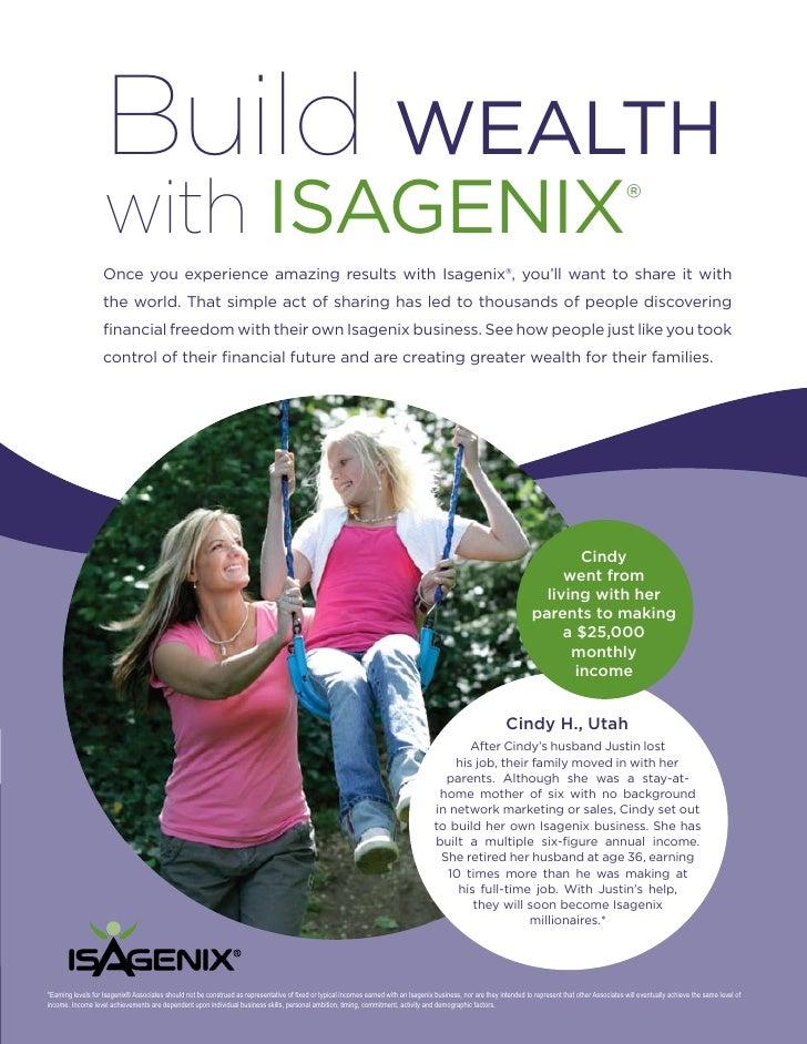 Build WEALTH                    with ISAgENIx                                                                             ...