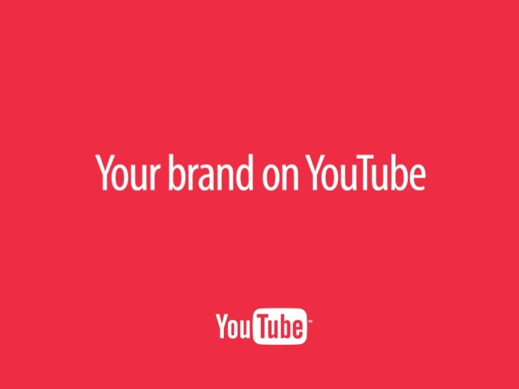 Build Your Brand on Youtube