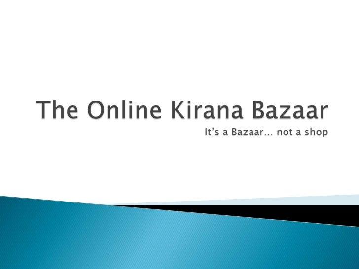 Online Kirana Baazar