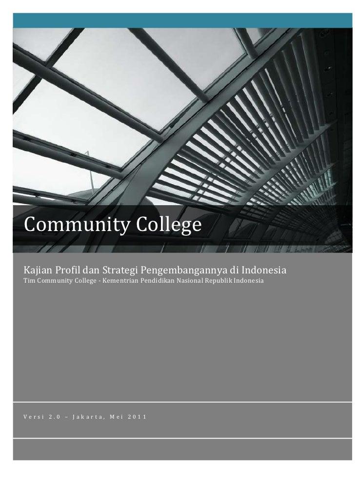 Buku rei-tik-community college-semifinal versi oktober 2011