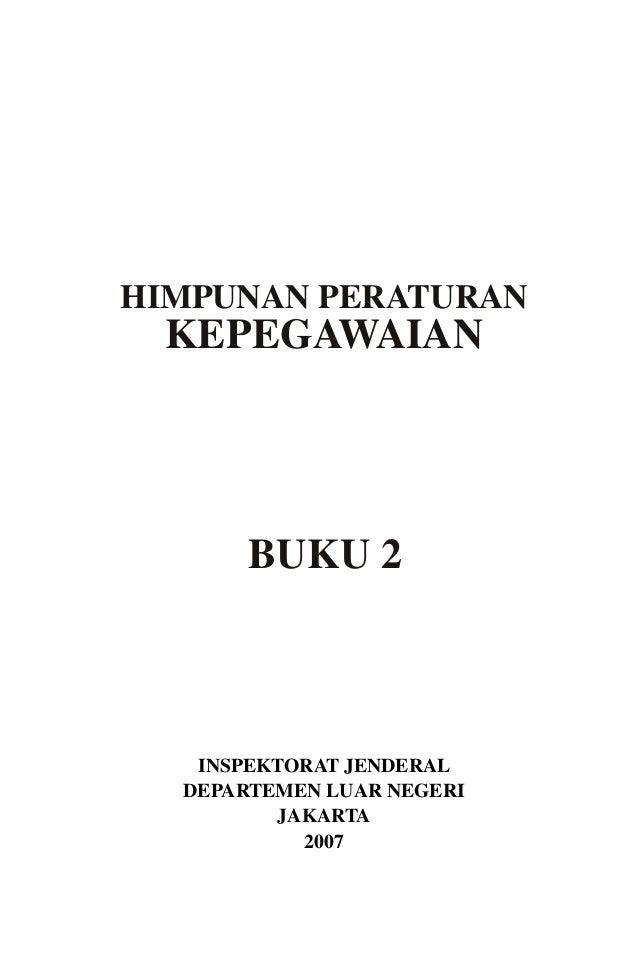 Buku 2 kepegawaian