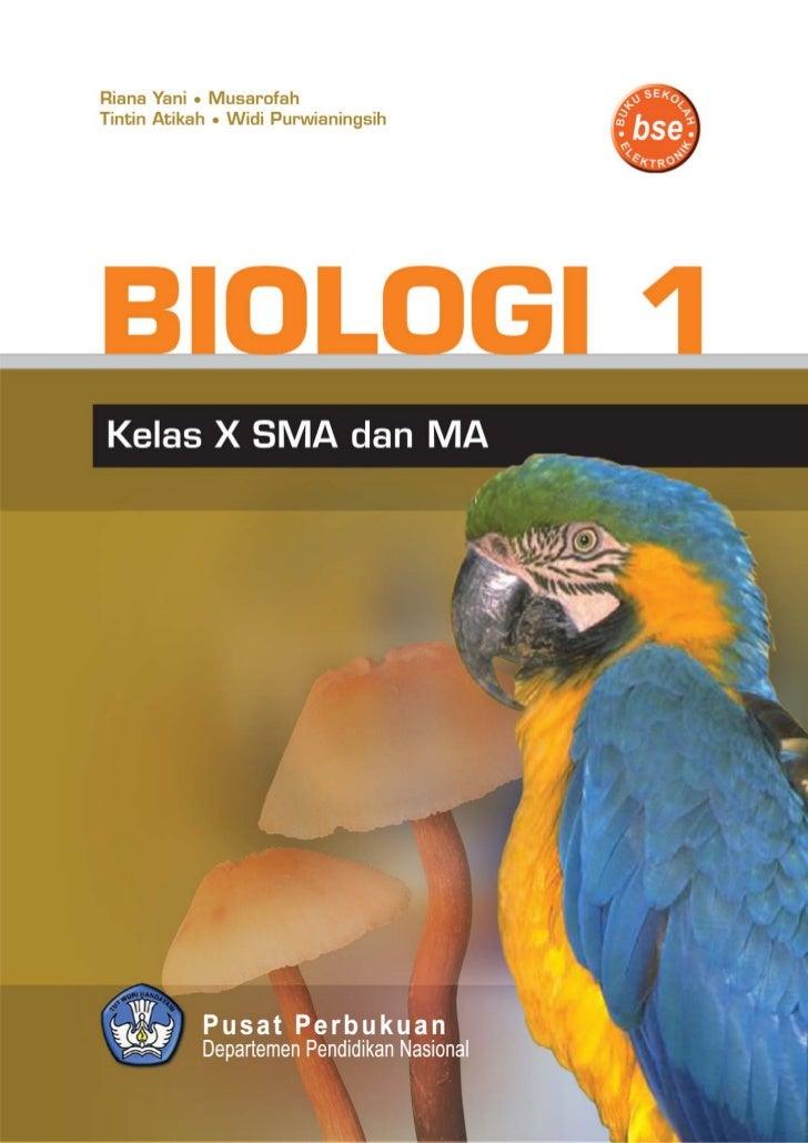 Buku Biologi Sma Kelas X Bse 2009 Riana Yani