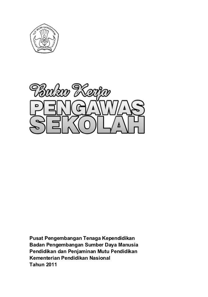Buku kerja pengawas sekolah
