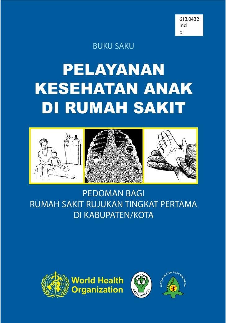 Buku saku pelayanan kesehatan anak