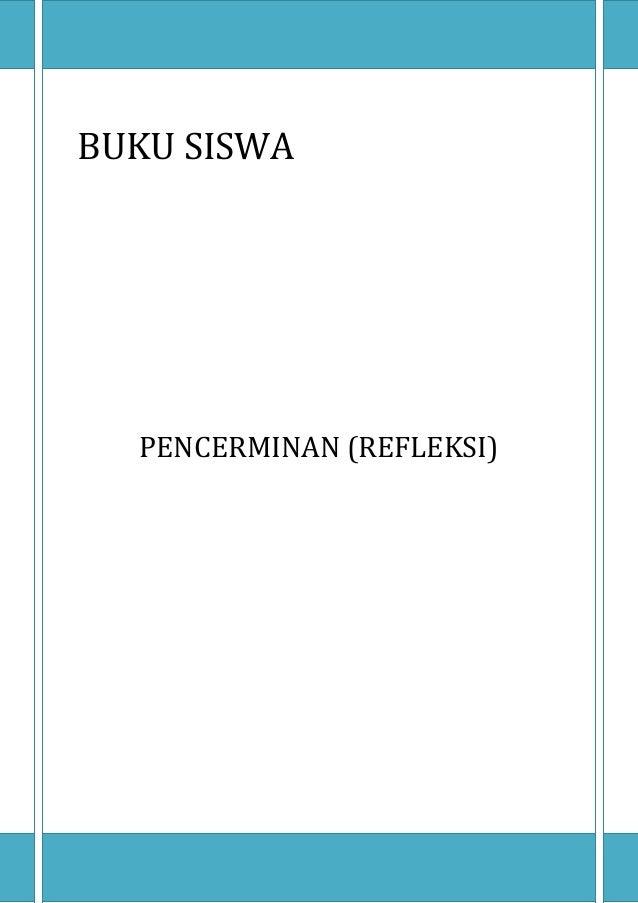 BUKU SISWA  PENCERMINAN (REFLEKSI)