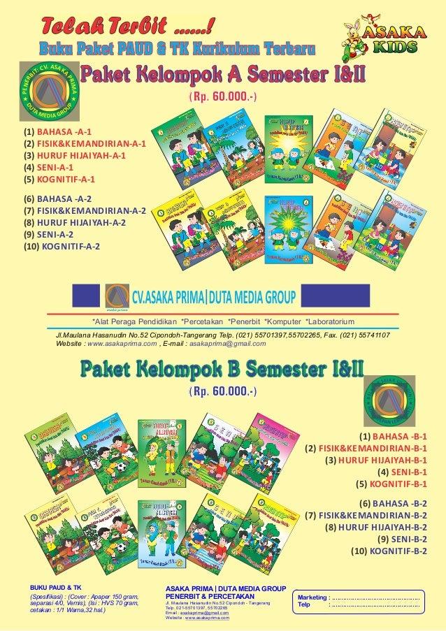 Buku Paud - Majalah PAUD TK PlayGroup. buku paud, buku tk,paud dan tk,buku pedidikan ,buku murah, paket buku paud, materi buku paud,penerbit buku