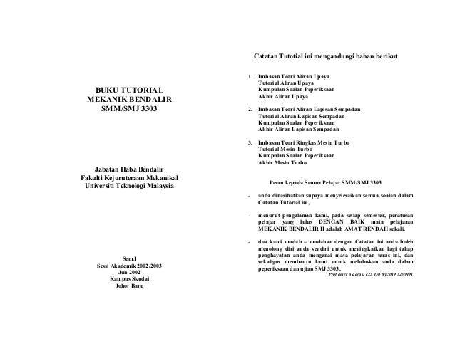 Catatan Tutotial ini mengandungi bahan berikut                                 1.    Imbasan Teori Aliran Upaya           ...