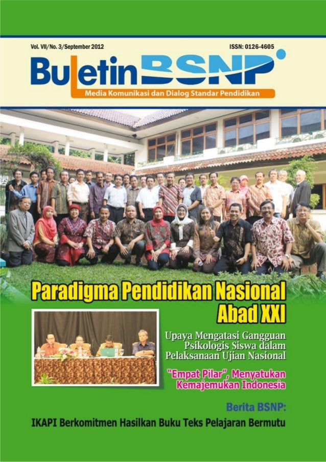 Buletin BNSP Edisi 3 Th 2012