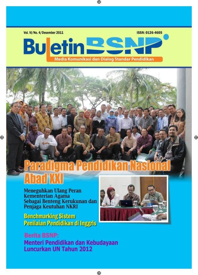 Buletin BSNP Edisi 4 2011