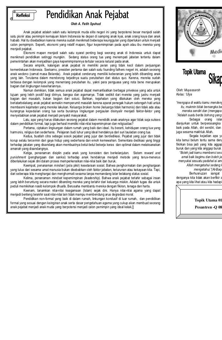El-                                                           El-Ukhuwah Edisi 34/Vol 03/Mei 2011                         ...
