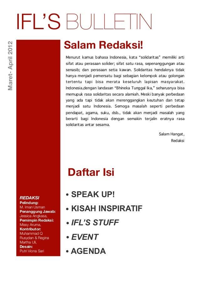 Buletin IFL Maret-April'12