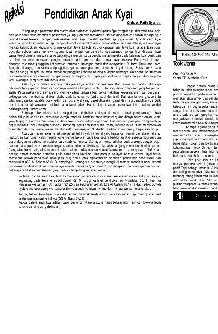 Buletin El-Ukhuwah Maret 2011 Edisi 32