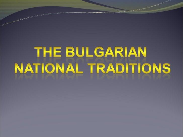 Bulgarskite tradicii