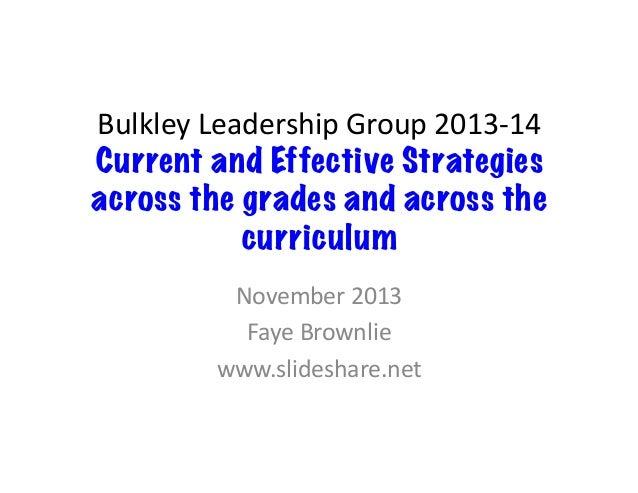 Bulkley valley leadership nov 2013