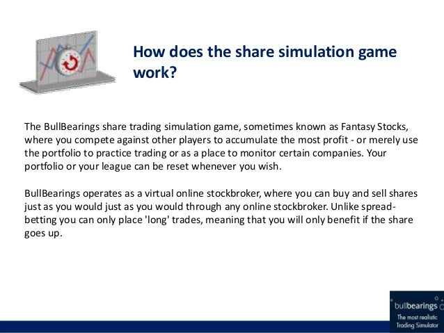 Online share trading virtual