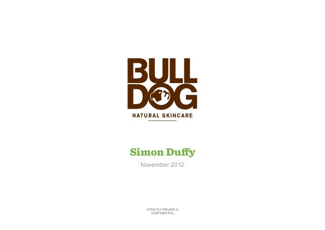 Uncovering trends in men's skincare packaging (Simon Duffy - Bulldog Natural Skincare)