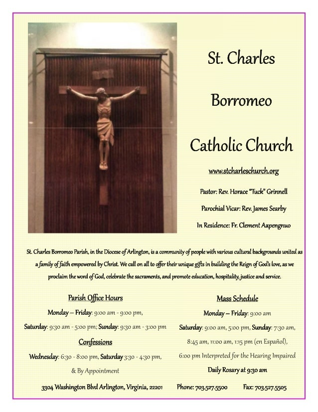 View this bulletin online at www.TheCatholicDirectory.com