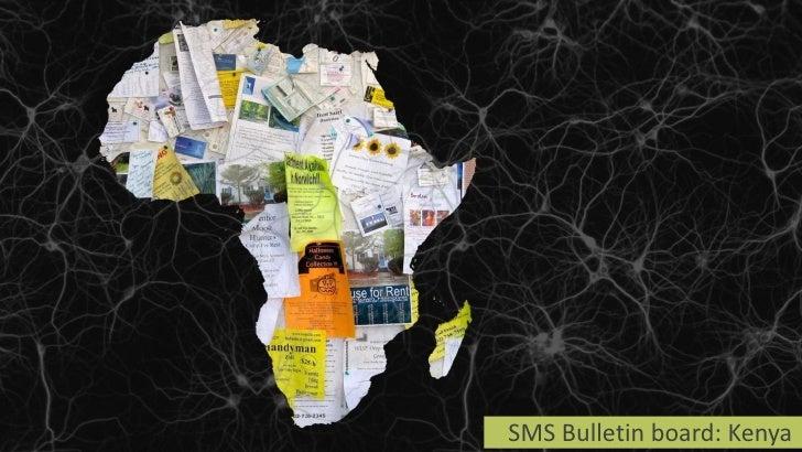SMS Bulletin board: Kenya