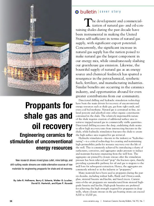 bulletin  cover story  T  he development and commercialization of natural gas- and oil-containing shales during the past d...