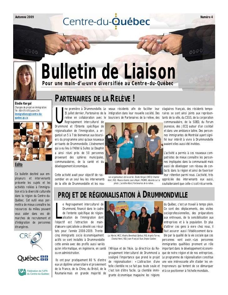 Bulletin Liaison Automne 09