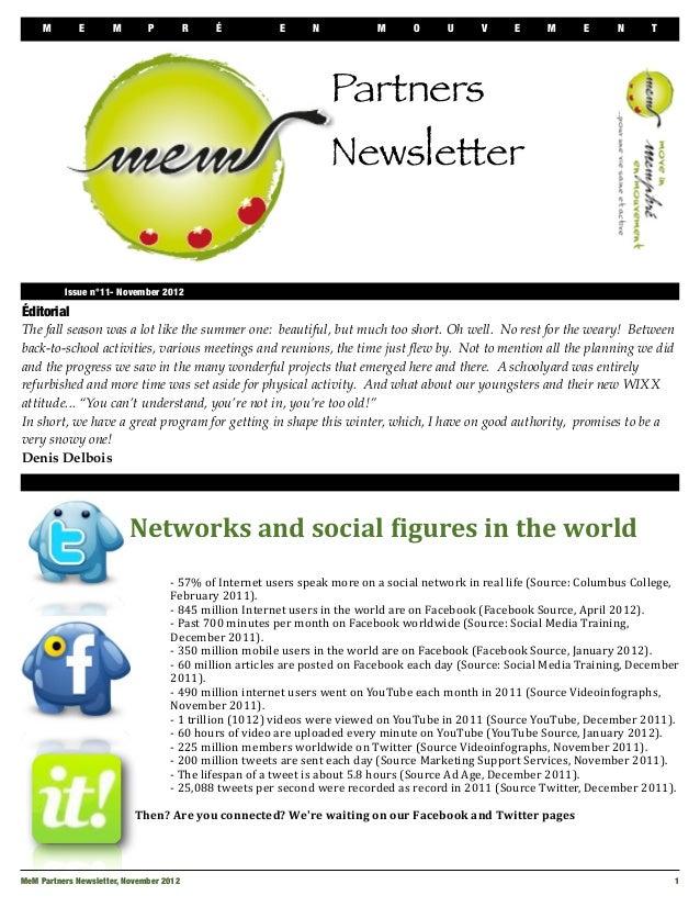Bulletin me m november 2012