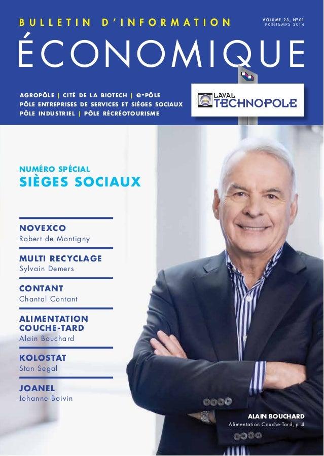 Bulletin d'information économique Laval - Printemps 2014
