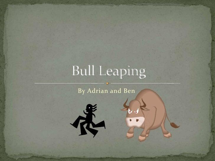 Bull leaping 1