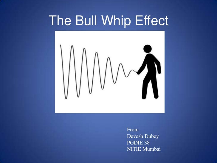 The Bull Whip Effect<br />From<br />DeveshDubey<br />PGDIE 38<br />NITIE Mumbai<br />