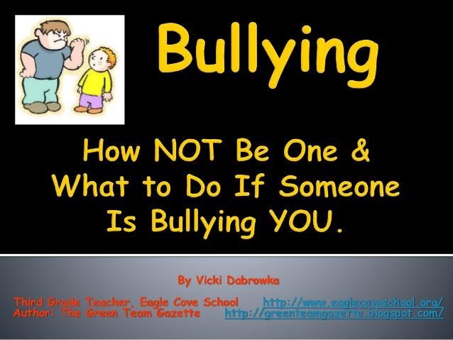 By Vicki Dabrowka Third Grade Teacher, Eagle Cove School http://www.eaglecoveschool.org/ Author: The Green Team Gazette ht...