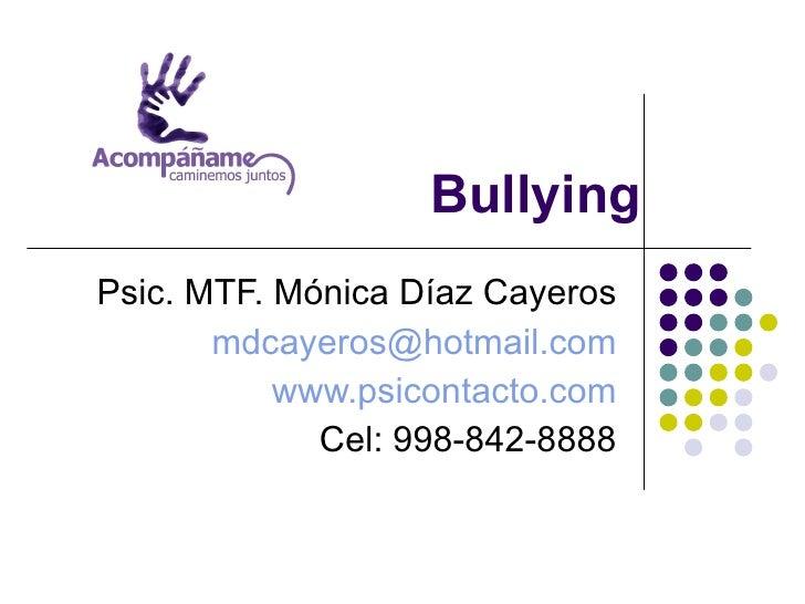 Cómo evitar el Bullying