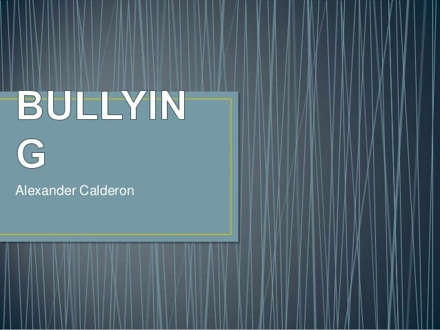 Alexander Calderon