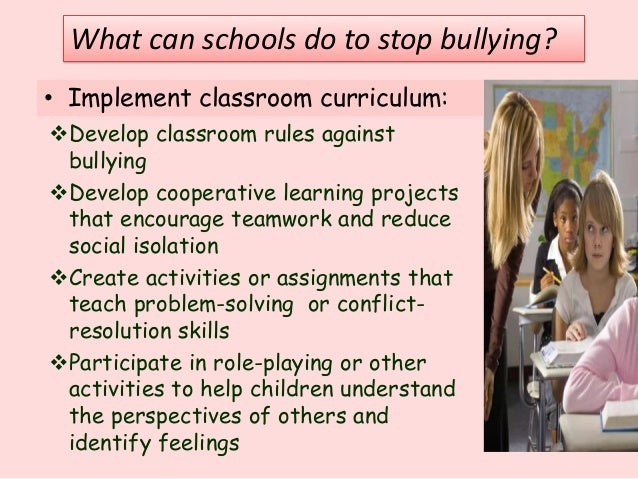 persuasive essay about stop bullying