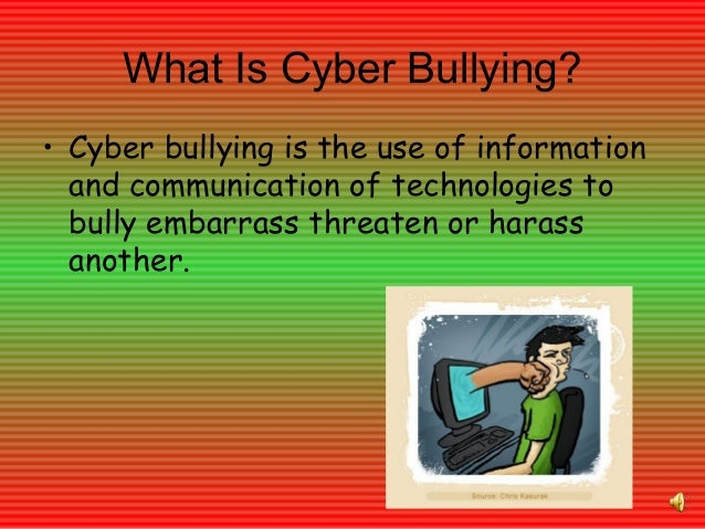 technolgy and bullying Technology bullying quotes - 1 it has become appallingly obvious that our technology has exceeded our humanity read more quotes and sayings about technology bullying.