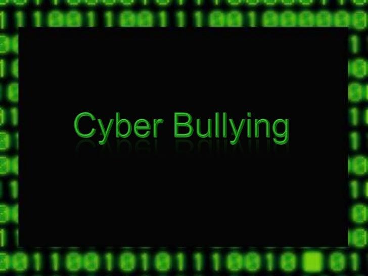Cyber Bullying & Sexting