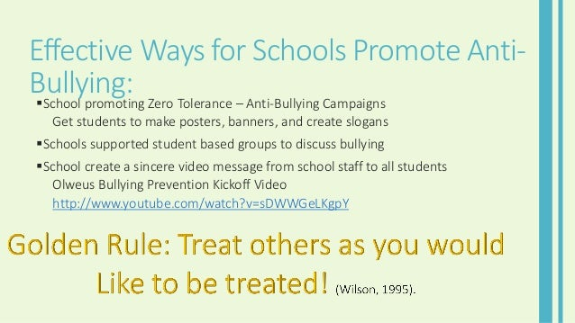 how to avoid being a victim of bullying