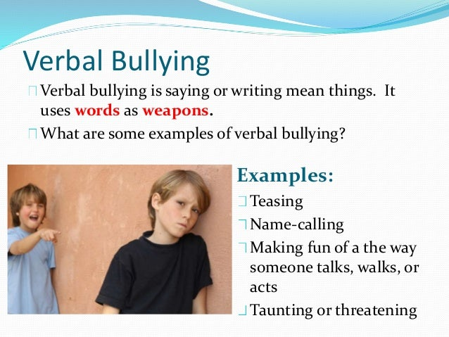 Bullying Essays