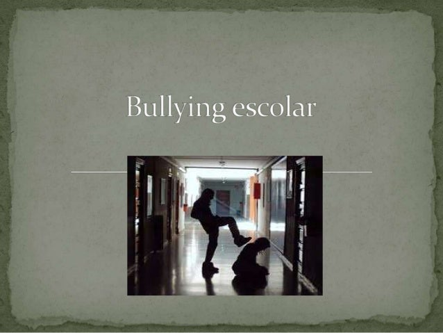 El acoso escolar (también conocido como hostigamientoescolar, matonaje escolar o, incluso, por su términoinglés bullying) ...