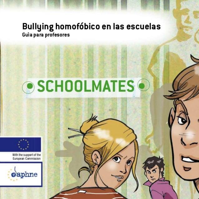 Bullying homofobico en las escuelas guia para profesores