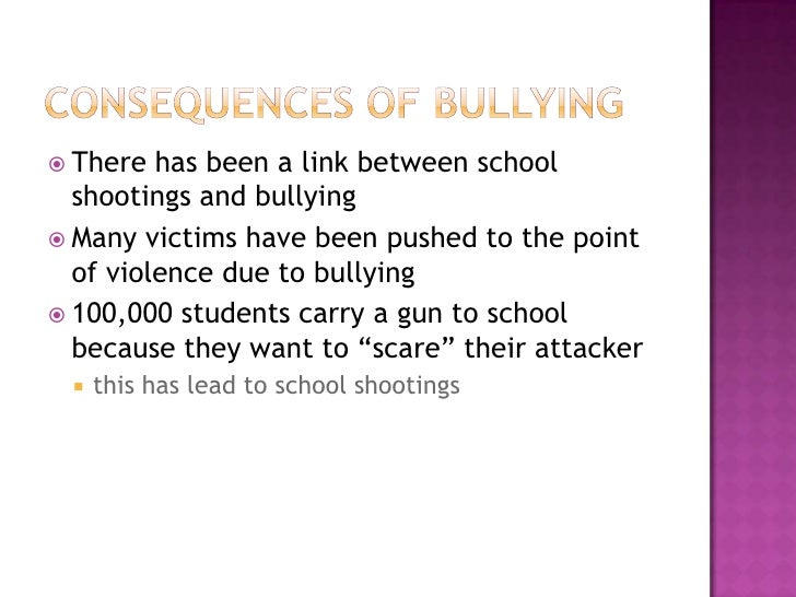 bullies and there victums Many bullies think highly of themselves they like being looked up to and they often expect everyone to behave according to their wishes children who bully are often not taught to think about how their actions make other people feel some children both bully others and are bullied they may have.