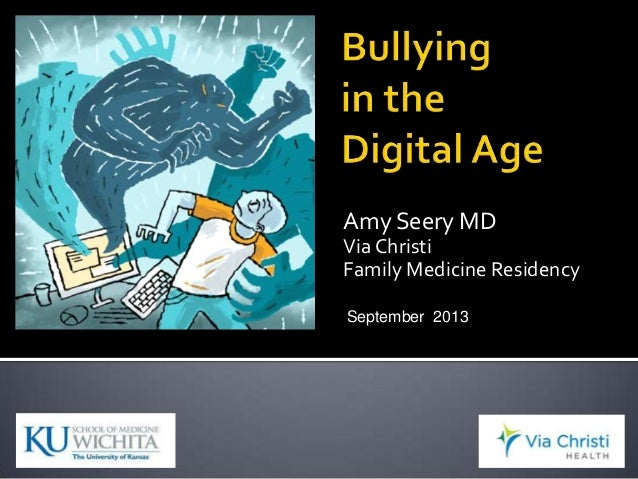 Bullying in the digital age