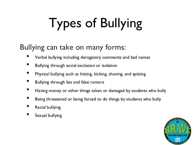 essay about bullying Writing-expert offers a free 5-page essay example on bullying topic with effective five-page essay writing guidelines for students write your bullying essay with our sample.