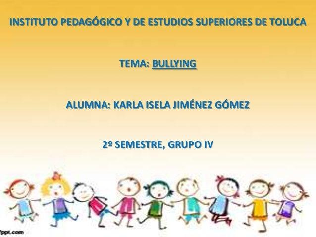 Bullying presentacion de power point