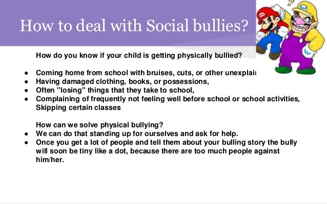 bullying expository View essay - expository essay from unv 104 at grand canyon university kayla durst unv-104 october 22, 2016 nicole rhoades bullying in schools the national bullying prevention center states that 1 in.