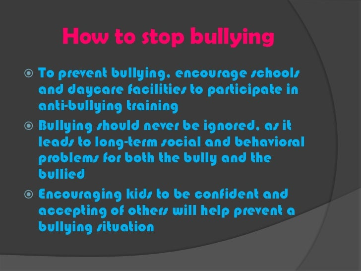 dissertation on bullying in schools