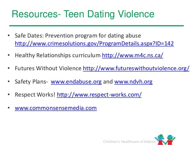 choose respect dating violence
